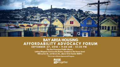 Bay Area Affordability Advocacy forum
